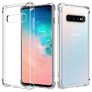 For Samsung Galaxy S20 S10 S10e S9 S8 Plus Case Clear Heavy Duty Shockproo Cover