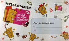 """Riesen Umschlag """"Alte Schachtel"""" Geburtstag Geldgeschenk Geburtstagskarte"""