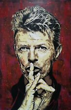 David Bowie original art Painting on Canvas