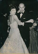 Silvana Pampanini 1956 -Actrice Danse au Bal Colonie Américaine de Rome - PR 580
