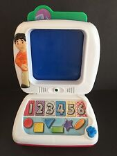 Blues Clues Talking Computer 2000 Mattel Interactive W/3 Disc Viacom