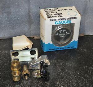Vintage American Parts Water Temperature Gauge Rat Rod Hot Rod 1-10134 NOS!