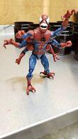 Marvel Legends Doppelganger Spider-Man Loose No BAF Molten Man Wave
