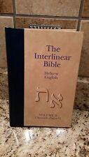 The Interlinear Bible, Hebrew-English, Volume 2, 1 Samuel - Psalms 55