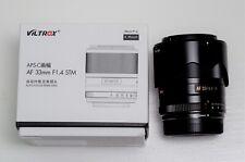 VILTROX AF 33mm AF33mm F/1.4XF Auto Focus Fixed Focus Lens for Fujifilm (MINT)