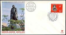 Netherlands Antilles 1967 Manuel Piar FDC First Day Cover #C26600