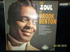 "BROOK BENTON ""THE SOUL OF BROOK BENTON"" VINYL LP"