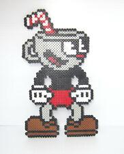 Cuphead Character Perler Bead Pixel Art