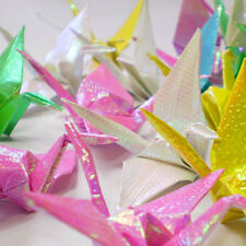 Glitter Paper Sparkling Shiny Lucky Bird Boat Animal Star Colorful Origami HOTRD