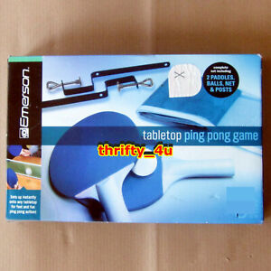Emerson 1641381, tabletop ping pong game set, 2011, NIB SEALED