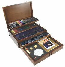 Derwent Pencil Majestic Wooden Box Rare Limited Edition
