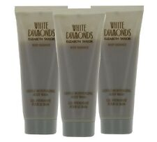 White Diamonds by Elizabeth Taylor for Women Combo: Body Wash 9.9oz (3x 3.3oz)