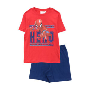 Spider-Man Short Sleeve Pyjamas - 2 to 8 Years