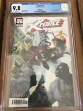 X-Force (Volume 5) #6 CGC 9.8 Asgardian variant Cable Domino free shipping