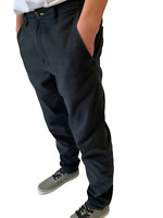 adidas ST Pant Black Mens Trousers Cotton Sizes 29 to 34 Only~Sale Price £12.99