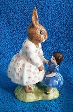 Vintage 1972 Royal Doulton Dollie Bunnykins Playtime Figurine made in England