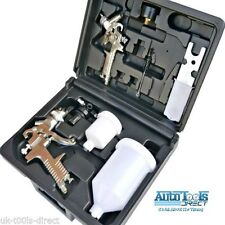 7pc Spray Gun Kit 3 x HVLP Spray Guns