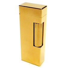 Dunhill Rollagas Lighter - Gold plated Barley Finish (rls1450)