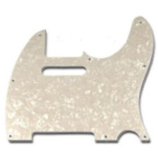 Battipenna Chitarra Elettrica Fender Telecaster Bianco Madreperla 8 Fori TE-PWH