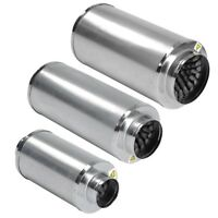 "4 6 8"" Duct Muffler Inline Fan Silencer Noise Reducer Hydroponic Vent Grow Tent"