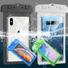 For iPhone XS Max/XS/XR/X/8 Plus Phone Waterproof Bag Case Swimming Beach Rowing