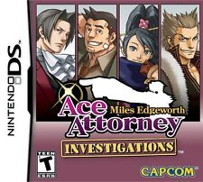 Ace Attorney Investigations: Miles Edgeworth [Nintendo DS DSi, Detective Cases]