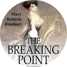 The Breaking Point, Mary Roberts Rinehart Mystery Thriller Audiobook on 1 MP3 CD