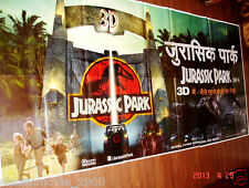 "JURASSIC PARK 3D(1993) ORIGINAL 6 SIX SHEET GIANT 52"" X 106""POSTER"
