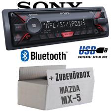 Mazda MX-5 MX5 - Sony Bluetooth MP3 USB Autoradio Einbauset Auto Radio 12V PKW