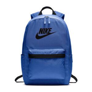 New Nike Boys Heritage Backpack 2.0 Blue MSRP $35.00