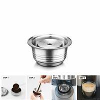 Stainless Steel Refillable For NESPRESSO Vertuoline GCA1 Coffee Capsules 230ml