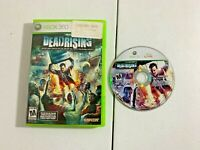 Dead Rising (Microsoft Xbox 360, 2006) - GAME DISC & ORIGINAL CASE (TESTED)