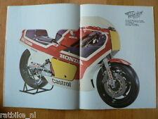 MV8202-POSTER HONDA NS500 MOTO GP RACER,CX500,PARIS-DAK