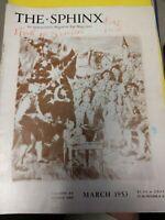 Yoda The Hindi Mystic 1953 Issue Sphinx Magazine Vol.52 No.1