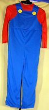 Child Costume (Disguise) Super Mario Costume Sz M (Ages 7-8) NEW