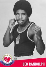 LEO RANDOLPH 8X10 PHOTO BOXING PICTURE GOLDEN GLOVES USA OLYMPIAN