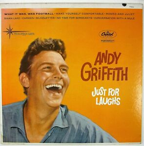 ANDY GRIFFITH Just For Laughs LP COMEDY NM- NM-