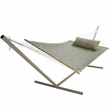 New Pawleys Island Large Double Soft Weave Polyester Outdoor Hammock Free Ship