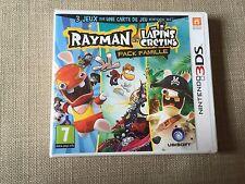 NINTENDO 3DS : Rayman et les Lapins cretins  pack famille ( neuf sous blister )
