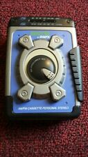 Gpx Sports Am/Fm Cassette Personal Stereo Bass Boost Cs3302Rs -Tested Working
