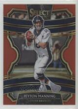 New listing 2019 Panini Select Concourse Red Prizm /99 Peyton Manning #19