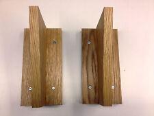 Oak veneer Shelf brackets