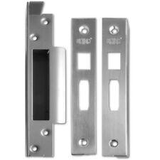 Union J2200REB Rebate To Suit StrongBOLT Sashlocks. - 25mm Satin Chrome