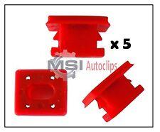 BMW 3 E46 7 E65 E66 X3 E83 Dashboard Trim Clips Strips Grommets Red Dash Inserts