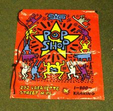 "Keith Haring Pop Shop Shopping Bag 18"" x 16"""