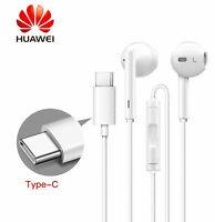 USB Type-C Earphones Headphones Handsfree For HTC U11 Life Eyes U11+ White