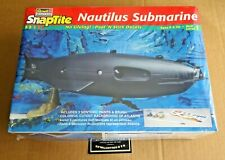 REVELL1;100 SCALE NAUTILUS SUBMARINE SNAPTITE PLASTIC MODEL KIT NEW/SEALED