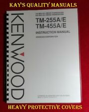 High Quality Kenwood TM-255 455 A/E Instruction Manual😊😊C-MY OTHER MANUALS😊😊