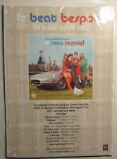 2004 LE BEAT BESPOKE Volume One Comp LP Promo Poster FN+ 6.5 16x24""