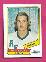 RARE 1976-77 OPC WHA # 15 AEROS MARTY HOWE EX-MT CARD (INV# C8042)
